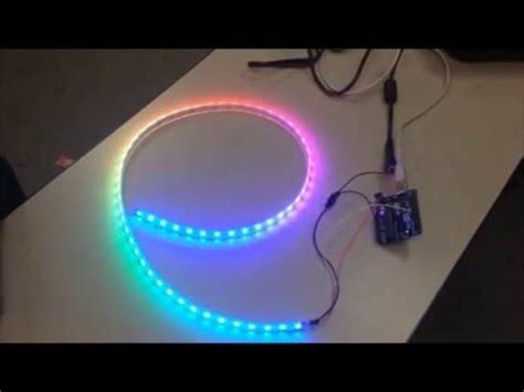 adafruit neopixel digital rgb led strip arduino uno