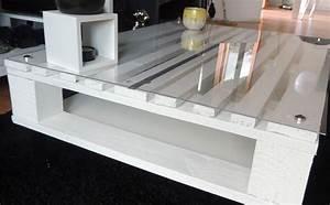 Table Basse Palettes : table basse palette bois diy fabriquer construire 05 ~ Melissatoandfro.com Idées de Décoration