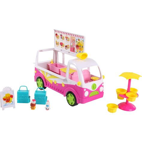 cuisine toys r us shopkins scoops truck playset walmart com