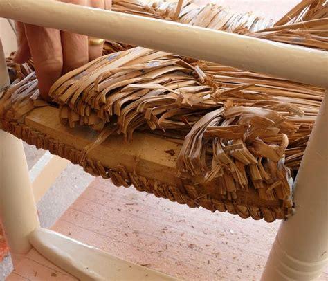 rempailler une chaise avec du tissu quot rempailler quot une chaise avec de la ficelle les deux