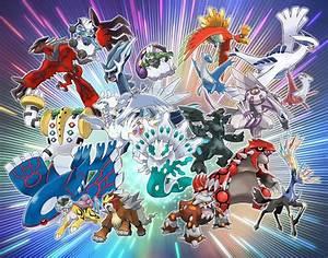 Pokemon Sun And Moon Legendary Pokemon Will Be