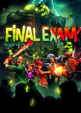 final exam video game wikipedia
