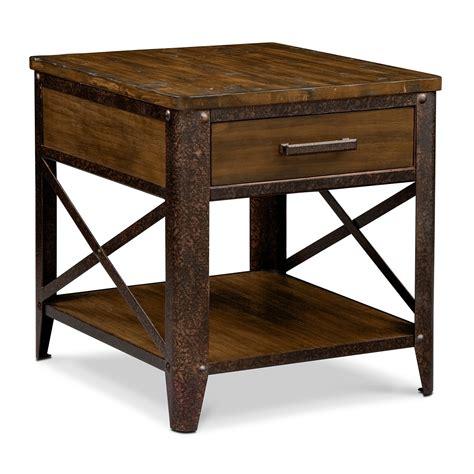 end tables shortline end table value city furniture