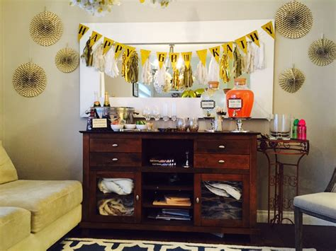 Ideas For Kitchen Themes - golden celebration 60th birthday party ideas for mom miss bizi bee
