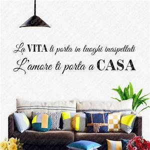 Casa Amore De : wall sticker adesivi murali con frasi d 39 amore gigio store ~ Eleganceandgraceweddings.com Haus und Dekorationen