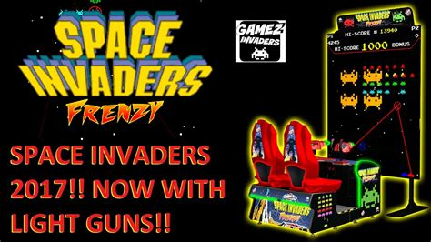 Space Invaders Frenzy! 2017 Retro Remake Now With Light