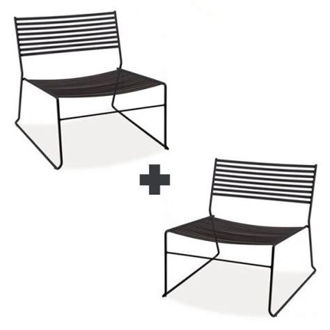 lot de 2 chaises lounge aero jardinchic