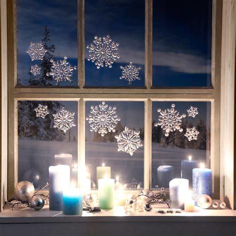 Weihnachtsdeko Fenstersticker by 3d Fenstersticker Schneefl 246 Ckchen Kaufen Bei