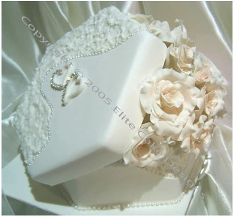 wedding box with roses cake by elitecakedesigns sydney