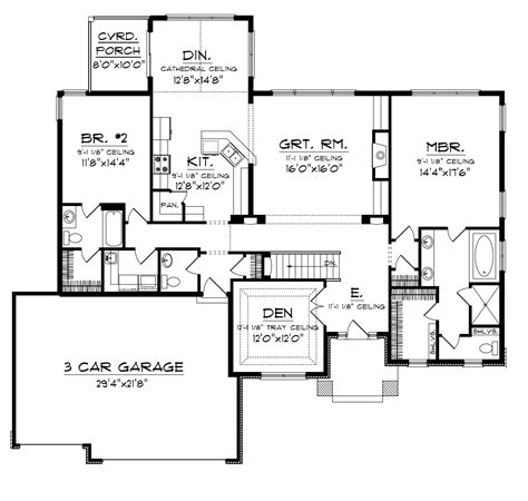 house plans and more roberta ranch home plan 065d 0022 house plans and more