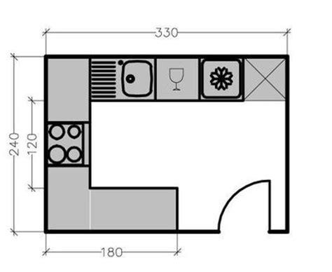 plan cuisine ferm馥 les 25 meilleures idées concernant cuisine fermée sur portes de poche verre armoires de base et tiroirs de cuisine