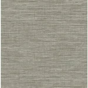 Grasscloth Wallpaper Grey