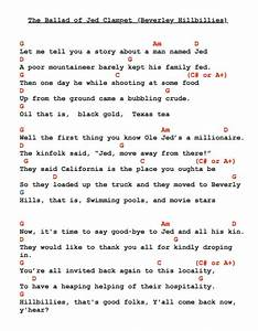 Beverley Hillbillies The Ballad Of Jed Clampett Lyrics