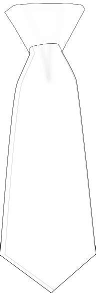 black outline white tie clip art  clkercom vector