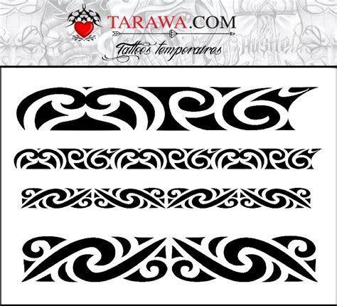 Tatouage Maorie Bracelet