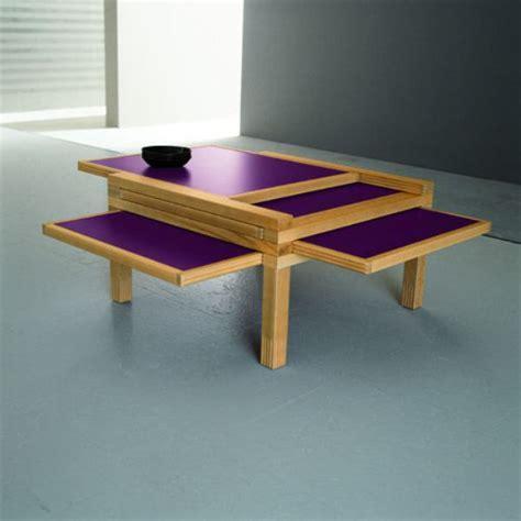 Expandable Coffee Tables by Sculrtures Jeux   Home Design