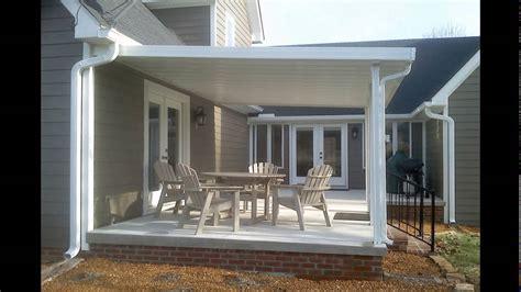 aluminum patio covers youtube