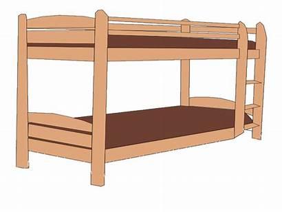 Bed Clipart Bedroom Bunk Clip Vocabulary Esl