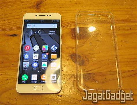 review smartphone android vivo  jagat gadget