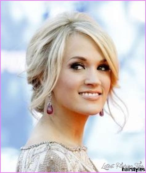 Hairstyles For Wedding Guests   LatestFashionTips.com