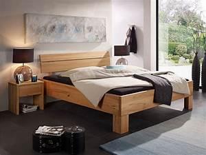 Massivholz Betten 180x200 : oskar ii massivholzbett 180x200 cm kernbuche ~ Markanthonyermac.com Haus und Dekorationen