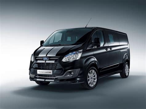 Ford Custom by Nieuwe Sport Uitvoeringen Voor Ford Transit Custom