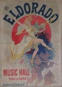 Jules Cheret Jules Cheret El Dorado Art Nouveau Original