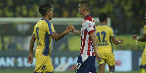 highlights isl  atk  kerala blasters football match score  updates game ends
