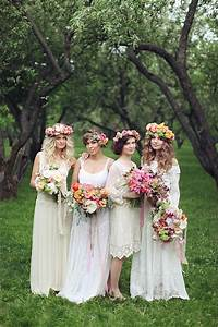 top 4 bridesmaid dresses trends your maids will love in With bohemian wedding bridesmaid dress