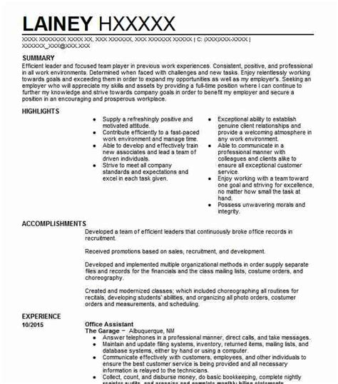 resume objective ofice asistant office assistant objectives resume objective livecareer