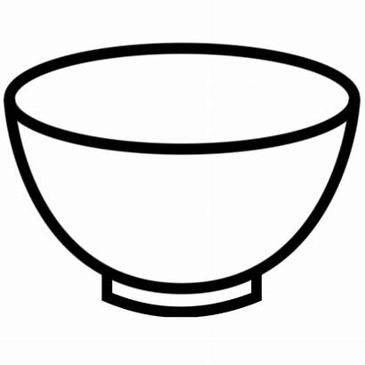 Bowl Clipart Empty Plate Clip Dish Outline
