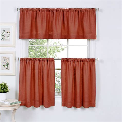 Cameron Kitchen Curtains  Spice Boscov's