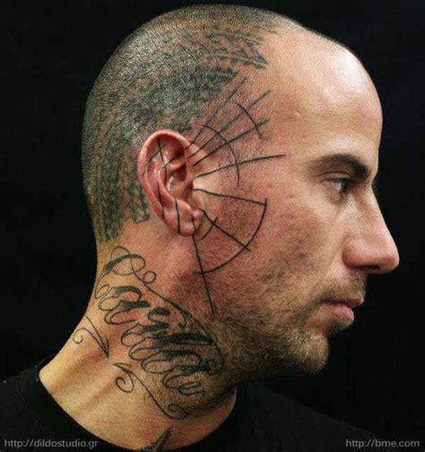 sweet side face tattoos tattoodo