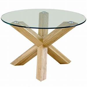 Round wood and metal side table black round coffee table for Round brass and glass coffee table
