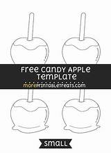 Apple Template Candy Apples Templates Printables Caramel Shapes Printable Letters Moreprintabletreats Signs Sponsored Links sketch template