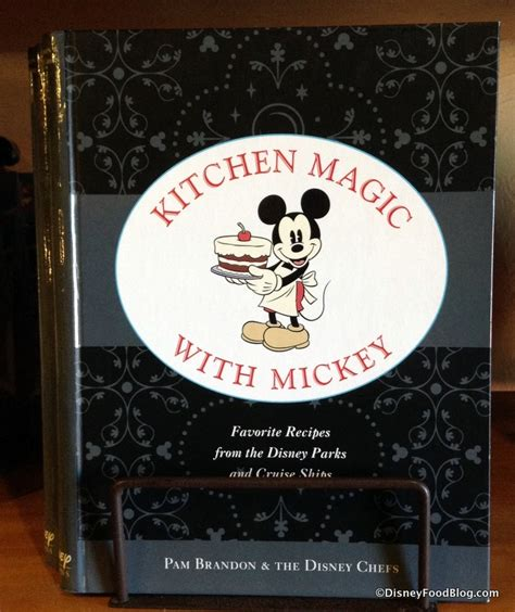 Kitchen Magic With Mickey Book news new kitchen magic with mickey disney cookbook
