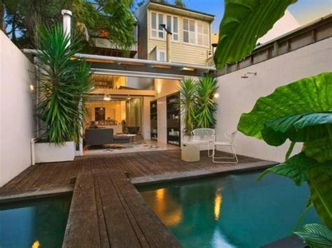 Tropical Home Style : Aménagement Terrasse Piscine De Design Moderne