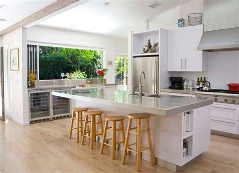 cuisine americaine moderne cuisine americaine avec ilot deco maison moderne