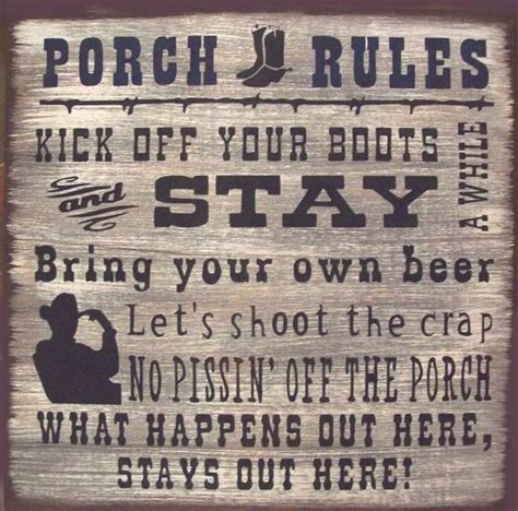 porch rustic primitive country wood sign home decor ebay