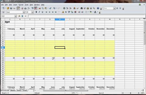 how to make a budget spreadsheet in excel spreadsheets