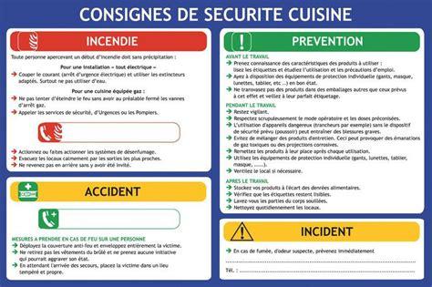 sécurité en cuisine consignes de sécurité en cuisine seton fr