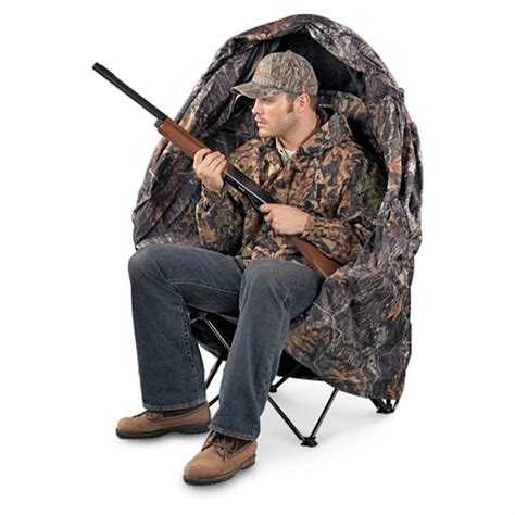 chair blind 110828 ground blinds at sportsman s guide