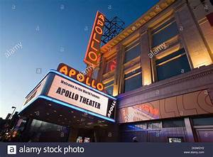 The Apollo Theatre in Harlem, West 125th Street, one of ...