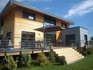 Maison Modulaire Bois : constructeur maison modulaire module home maison ~ Melissatoandfro.com Idées de Décoration