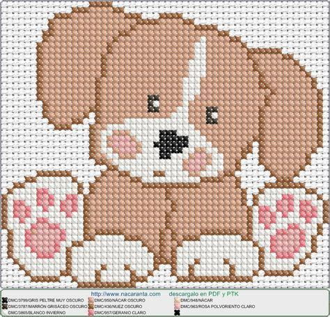perrito sentado EN PUNTO DE CRUZ Cross stitch patterns