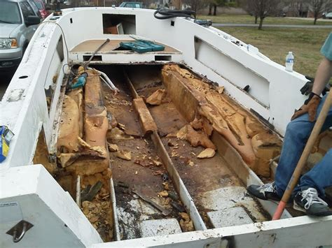 Mako Boats Sink by 22 Mako Rebuild The Hull Boating And Fishing Forum