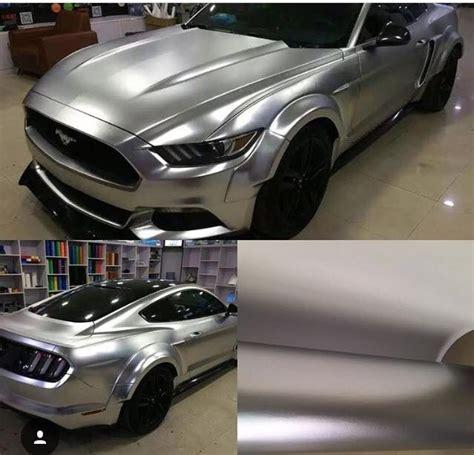 vinil wrapping gris plata cromo mate satinado rs wrap