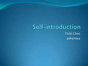 Introduction For Interview Self Introduction