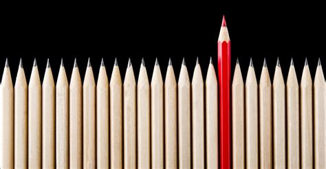 Unique Image Stand Out Unique Pencil Inspired Leaders