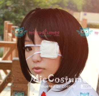 white eyepatch  cosplay  sale